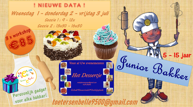 junior bakker nieuwe data
